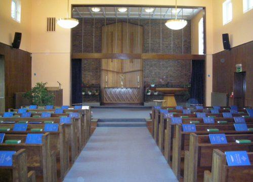 Service at Eastbourne Crematorium